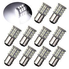 10pcs Bay15d 1157 Car White 64 SMD 3528 LED Tail Brake Stop Signal Light Bulb