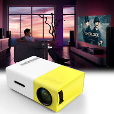YG300 LED Mini Projector Full HD Ultra Portable And Incredibly Bright Theater QZ