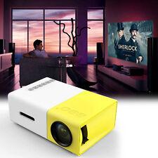 YG300 Mini LED DLP Pocket Projector Home Theater SD Cinema HD 1080P USB FE