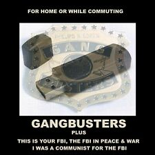 GANGBUSTERS PLUS THREE MORE FBI OLD TIME RADIO SERIES. 654 SHOWS FOR CAR OR HOME
