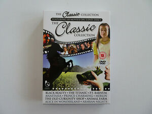 The Classic Collection - 10 Filme auf 3 DVD´s - FSK 12