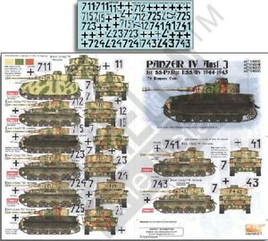 Echelon 351030 1/35 Panzer IV Ausf J 1st SSPzRgt LSSAh 1944-45