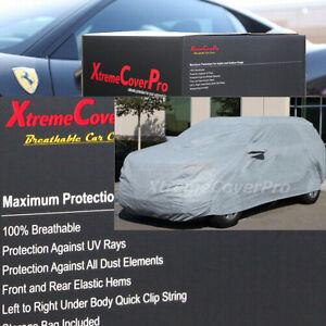 2015 SUBARU XV CROSSTREK Breathable Car Cover w/Mirror Pockets - Gray