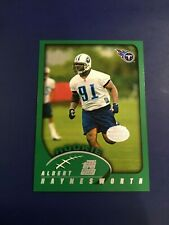 2002 Topps Collection # 331 ALBERT HAYNESWORTH ROOKIE RC Tennessee Titans SHARP