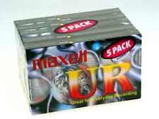 Maxell UR 60 Cassette Audio Vide, 60 min