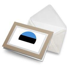 Greetings Card (Biege) - Estonia Europe Tallinn Flag  #9109