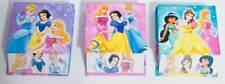Disney Princess Belle Jasmine Cinderella Aurora Set Of 3 Memo Pads