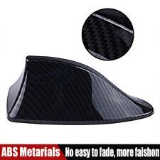 Carbon Fiber Look Shark Fin Aerial Antenna Roof AM FM Radio Signal For BMW VW UK