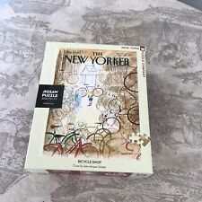 New Yorker Magazine Cover Bicycle Shop New York Puzzle Company 1000 Pc Puzzle