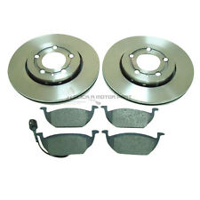 VW POLO 9N (2001-2008) 1.2 1.4 1.6 1.9 FRONT 2 BRAKE DISCS & PADS (CHECK SIZE)