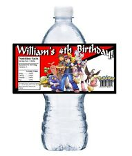 20 POKEMON PERSONALIZED BIRTHDAY PARTY FAVORS ~ WATER BOTTLE LABELS Wrappers