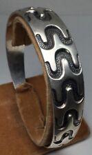 Vintage David Anderson Sterling - Viking Period Look - Cuff Bracelet (S66)
