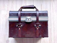 Sac d'épaule Photo Vintage Aluminium/Cuir Bandoulière Fourre-Tout Shoulder Bag