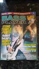 BASS PLAYER magazine - November 2001