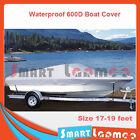 Heavy Duty Waterproof 600D 17-19ft Marine Trailerable Boat Cover AU Stock
