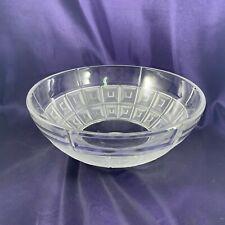 "Rosenthal DOMUS Crystal Bowl 9"""