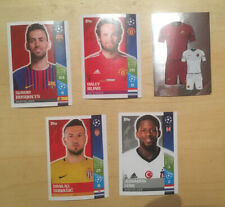 Opened Packet Of UEFA Champions League 2017-18 Stickers (Topps)
