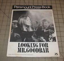 1977 LOOKING FOR MR. GOODBAR Paramount Press Book & Merchandise Manual