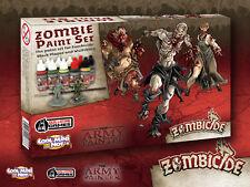 The Army Painter BNIB Warpaints Zombicide Black Plague Set APWP8012