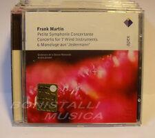 F. MARTIN - Petite Symphonie Conc.te Conc. for 7 wind instr. O.S.R. A.Jordan CD