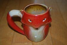Gibson Red Fox 16 oz Coffee Tea Mug Ceramic Cute Animal