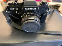 Mamiya ZE-2 Camera With Accessories & Case