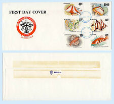 Hutt River Province Australia 1982 First Day Cover Fish FDC Cinderella Stamps