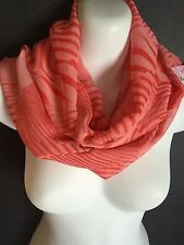 Infinity Scarf by DOLLY BIRDS Watermelon Tones made in Tasmania, Australia.