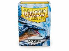 Dragon Shield Mat Sapphire 100 Protective Sleeves Cases Standard