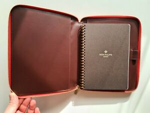Patek Philippe leather notebook