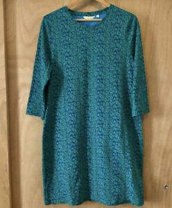 Boden Women's Floral Oversized Green Pajama Dress Size 14R
