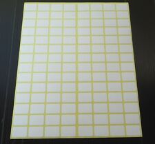 112Small white sticky stickers labels13x19 mm adhesive labels price stickerstags