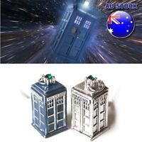 Wholesale Retro Style Doctor Who TARDIS Police Necklace Box Pendant