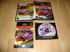 RUMBLE RACING CARRERAS COCHES DE EA GAMES PARA LA SONY PS2 USADO COMPLETO