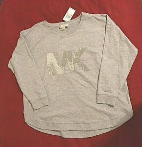 Michael Kors Pull Over Top with Sequins MK size 2X/18W,20W retail $120