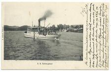 "SHIPPING - ""S.S. SABANGBAAI"" Netherlands Indies / Indonesia 1908 Postcard"