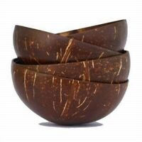 Coconut Shell Bowls Halves Eco Friendly Shine Desert Cup Buy 5 Get 1 Free
