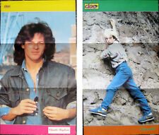 CIOE' Poster Manifesto 1985 – CLAUDIO BAGLIONI – LIMAHL - 40 x 22 cm