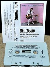 NEIL YOUNG     - EVERYBODY'S ROCKIN' -                            Cassette Tape