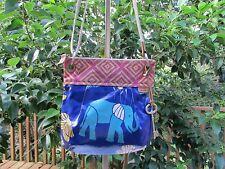Fossil Key-Per Elephant Crossbody Bag Purse