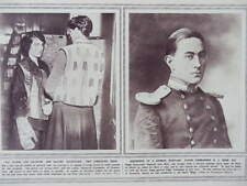1916 GLOVES & WAISTCOATS FOR SOLDIERS; FLT COMMANDER BONE; SEAPLANE WWI WW1
