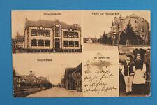 Alsace Bas-Rhin Elsass 67 AK CPA Altenheim 1920 Ecole Rues Costumes maisons ++
