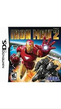 Iron Man 2 for Nintendo DS, Brand New Sealed In Plastic, SEGA, Video Game, ds !