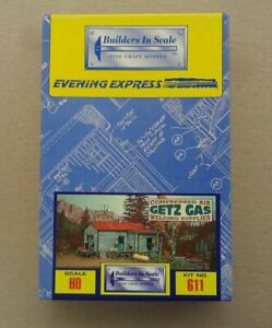 HO Scale Model Craftsman Kits (3), New and Unbuilt. Lot 2