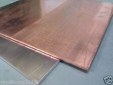 1pcs 99.9% Pure Copper Cu Metal Sheet Plate 2 x 50 x 400 mm