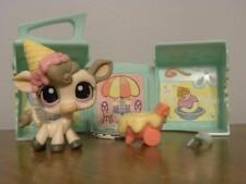 Littlest Pet Shop LPS #1351 Scoops n' Shake Ice Cream Cow Set