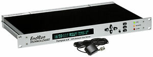 Endrun Technologies Tempus LX GPS **NEW DISPLAY** NTP Network Time Server Clock