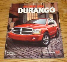 Original 2004 Dodge Durango Deluxe Sales Brochure 04