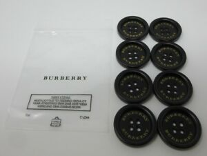BURBERRY TRENCH COAT AUTHENTIC REPLACEMENT BUTTONS 30MM SET OF 8 BRAND NEW !!!!