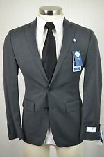 (42R) NEW Ryan Seacrest Men's Charcoal Gray SLIM FIT Blazer Sport Coat Jacket